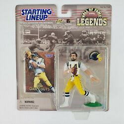 Starting Lineup Nfl Dan Fouts San Diego Chargers Hall Of Fame Legends Rare New