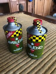 Avblend Aviation Oil Additive- Two 12 Oz Cans - Faa Approved Engine Protection