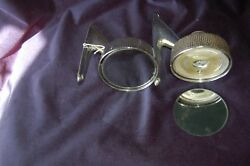 Ford Galaxie 500 1963 Side Mirrors Vintage Old Car Part Automobile Restoration