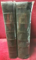 1641-2/3 Volume Set Of Foxe's Book Of Martyrs-only Title 2 And 3 Pages-folio-rare