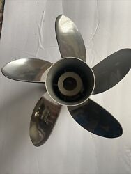 Mercury 48-815746a45 High Five 12-3/4 X 24 Pitch 5-blade Stainless Prop