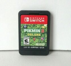 Pikmin 3 Deluxe Nintendo Switch Good Game Cartridge Cart Strategy Combine Games