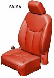 Jeep Wrangler Jk Custom Katzkin Leather Seat Covers - Single Color - You Pick