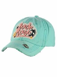 Ceciandreg Womens Baseball Cap Distressed Vintage Unconstructed Embroidered Dad Hat