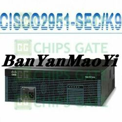 Fedex Dhl Used Cisco Cisco2951-seck9 Tested In Good Condition