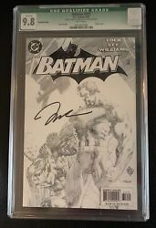 Batman 612 Cgc 9.8 2nd Printing Variant Signed Cover
