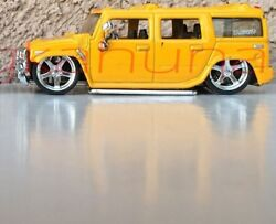 Jada Toys - 2003 Hummer H2 - Rubber Tires - Die-cast - Approx Scale 164