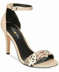 Seven 7 Dials Women's Wickford Ankle Strap Sandal,nude Smooth Synthetic,us