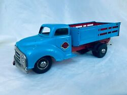 Gama Truck Lkw Wind-up Tin Toy Truck Rare