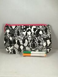 Ipsy MyGlam Glam Bag Create March 2018 Cosmetic Black amp; White w markers only $3.99
