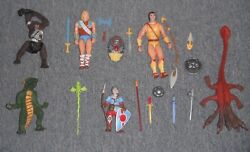 Dungeons And Dragons Vintage 1980s Toys Action Figures, Weapons, Accessories, Etc.