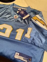 Nwt Mens Size 52 Xxl Nfl Authentic Reebok Chargers Ladainian Tomlinson Jersey