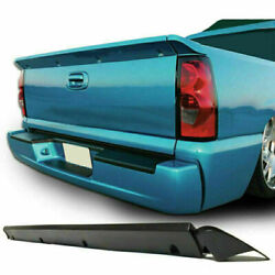 Tailgate Cover Protector Intimidator Spoiler Wing For 99-06 Chevy Silverado 1500