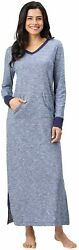 Addison Meadow Long Nightgowns For Women - Jersey Cotton Nightgowns For Women S