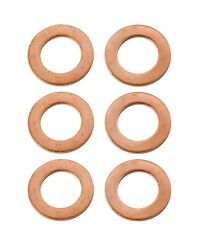 1937 Plymouth Brand New Brake Copper Crush Washers 6 Pieces High Quality