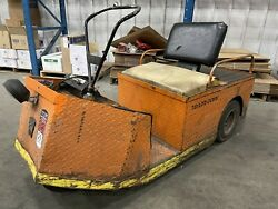 Taylor Dunn Ss5-34 Electric Cart Truck Personnel Scooter Carrier