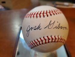 Robinson Gibson And Paige Replica Signed Baseball We Make Our Balls For Museums
