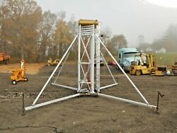 1995 Upright Up-right Scaffolding Air-lift 35 Ft New Air Lines