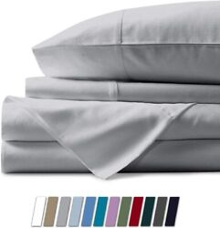 Bunny's Home 4 Piece Sheet Set 100 Egyptian Cotton Sheets 17 Inches Extra Deep