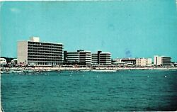 Vintage Postcard Sandy Beach For Sun and Surf Bathing Virginia VA #2564 $8.95