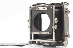 【mint++】ebony Wide 45 4x5 Inch Large Format Film Camera From Japan 0782