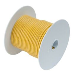 Ancor 114925 Marine Grade Tinned Copper Battery Cable Wire Yellow 250 Feet 2 Awg