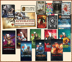 MAGIC MTG Arena code card FNM Home Promo Pack MAY 7 APR 30 PRERELEASE INSTANT