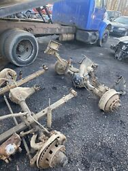1977 Chevy Gmc Axles 3/4 8 Lug 4x4 3.73 Ratio Matched Set With Springs Steering