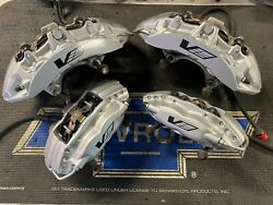 2009 2010 2011 2012 2013 Cadillac Cts-v 6 Piston Front And Rear Brembo Calipers