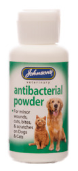 Johnsonand039s Antibacterial Powder For Cats And Dogs 20g Free Delivery