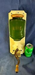 Green 1930and039s Pede Original Marked Art Deco Coffee Grinder Porcelain German Wall