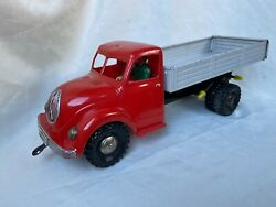 Seidel M. Ms Toys 1200 Truck Wind-up Tin Toy / Blechspielzeug Rare