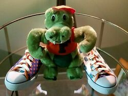 New Uf Gators Sneakers - Women's Size 7 And Albert The Alligator Stuffed Toy-nice