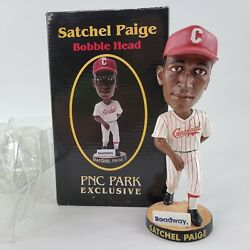Satchel Paige Pittsburgh Pirates Crawford Bobblehead PNC Park Limited 8 11 06 $18.48