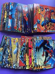 1994 Fleer Marvel Amazing Spiderman Card You Pick Your Card/ Finish Your Set