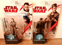Star Wars Force Link Dj Canto Bight And Rey Jedi Training New On Card