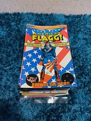complete rare American Flagg comic series issue 1 50 1983 87 first comic