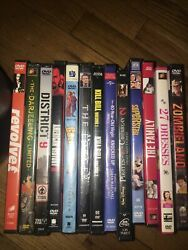 Lot Of 86 Dvd Movies In Case - Used Wholesale Lot Ships Fast Great Condition