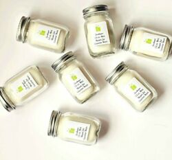 New 125-200 Pc Handmade Custom Candle Wedding Party Favors Choose Scent + Label