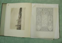 Antique Book The Howitzer Of 1912 West Point Military Academy Cadet Corps Rare