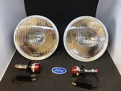 1964-1970 Ford Falcon Mustang Cougar Led Headlight Set