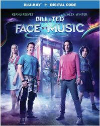 Bill amp; Ted Face the Music Blu ray Digital Code 2020 BRAND NEW FREE SHIPPI