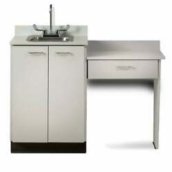 Clinton 24 Base Cabinet Set With 2 Doors And Desk