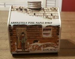 Vintage 1984 Absolutely Pure Maple Syrup Tin.