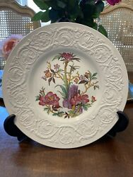 """Nankin Patrician By Wedgwood Dinner Plate 10.5"""" Made In England Al9328 Rare"""