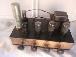 Rare Arkay Model A-12 Amp Untested For Parts Or Repairs Sold As Isantique