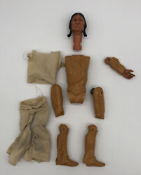 Vintage 11 Louis Marx Johnny West Series Chief Cherokee Parts Only