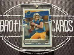 Justin Herbert Rookie 2020 Optic Chargers
