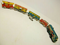 Disney- Marx Mickey Mouse Express Train -1950-n.mint-c9+ Condition + Tin Track