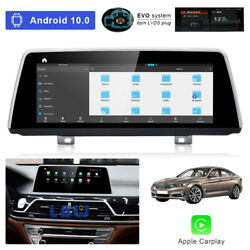 8-core Android 10 Car Gps Wifi Unit Wireless Carplay For Bmw 7 Series G11 2016+